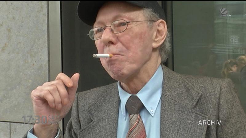 Raucher Friedhelm Adolfs wieder vor Gericht (Foto: SAT.1 NRW)