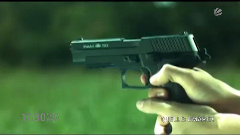 Diebstahl in Waffenfirma (Foto: SAT.1 NRW)