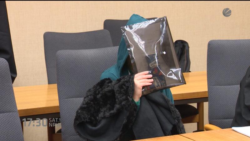 Prozess um Grusel-Mord (Foto: SAT.1 NRW)