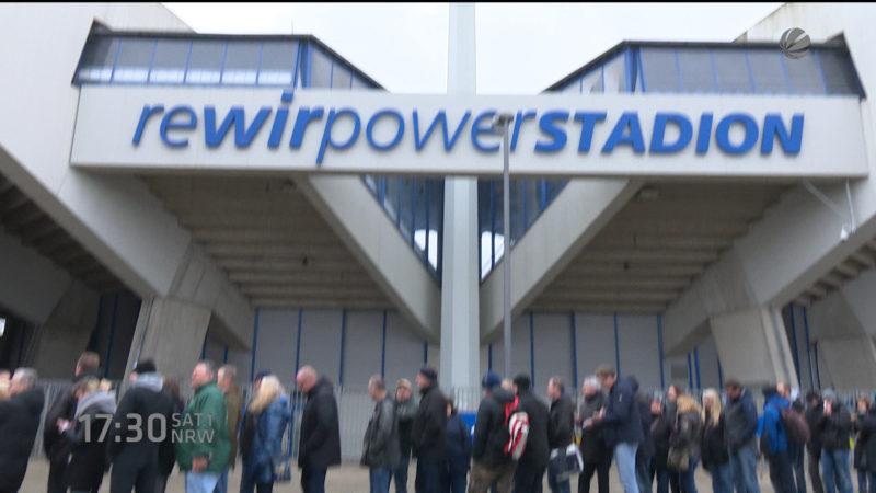 Vorverkauf Bochum gegen Bayern München (Foto: SAT.1 NRW)