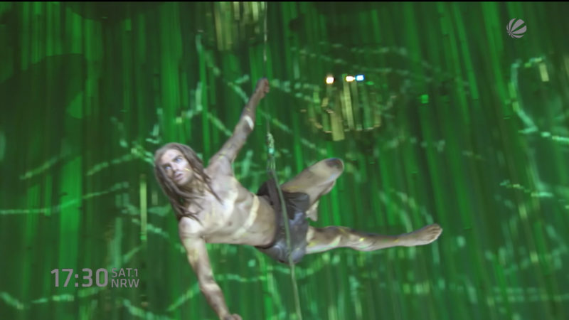 Tarzan-Musical kommt nach Oberhausen (Foto: SAT.1 NRW)