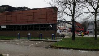 Millionenschaden nach Großbrand an Uni (Foto: Sat.1 NRW)