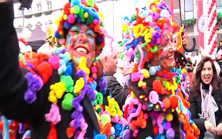 Karnevals-Gipfel in Düsseldorf (Foto: Sat.1 NRW)