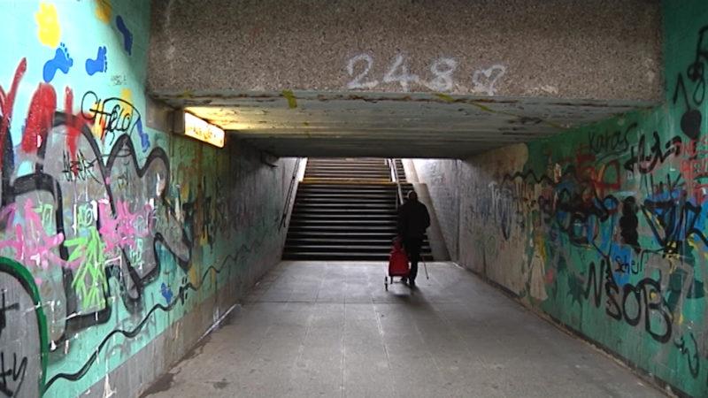 So desolat sind die NRW-Bahnhöfe (Foto: SAT.1 NRW)