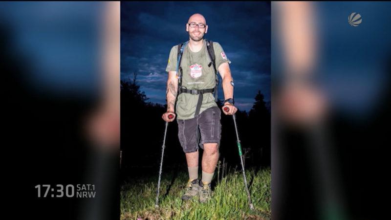 Mann aus Detmold lässt sich freiwillig Bein abnehmen (Foto: SAT.1 NRW)