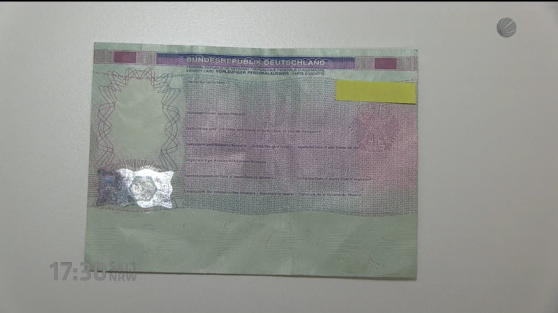 Ausweispapiere gestohlen? (Foto: SAT.1 NRW)