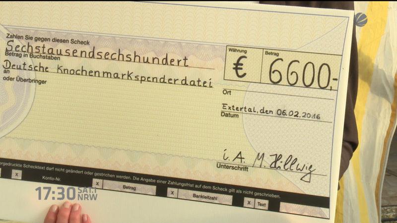 Spenden Wette gegen den Krebs (Foto: SAT.1 NRW)