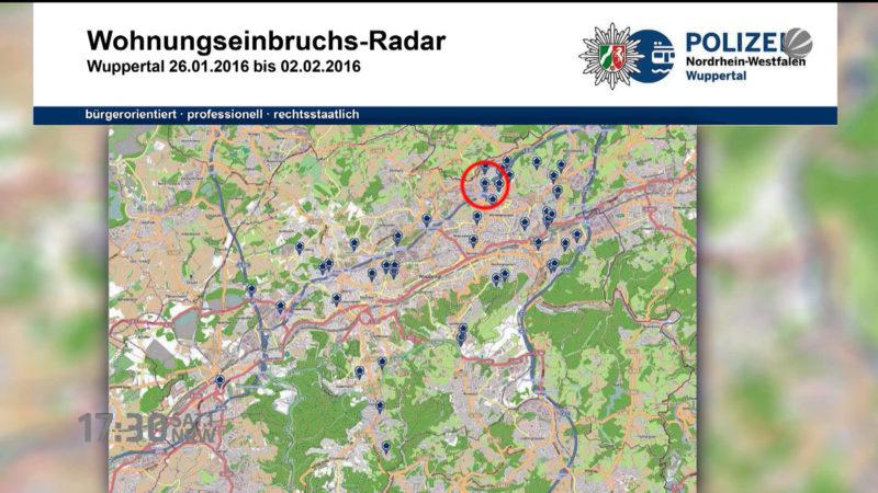 Einbruch-Radar (Foto: SAT.1 NRW)
