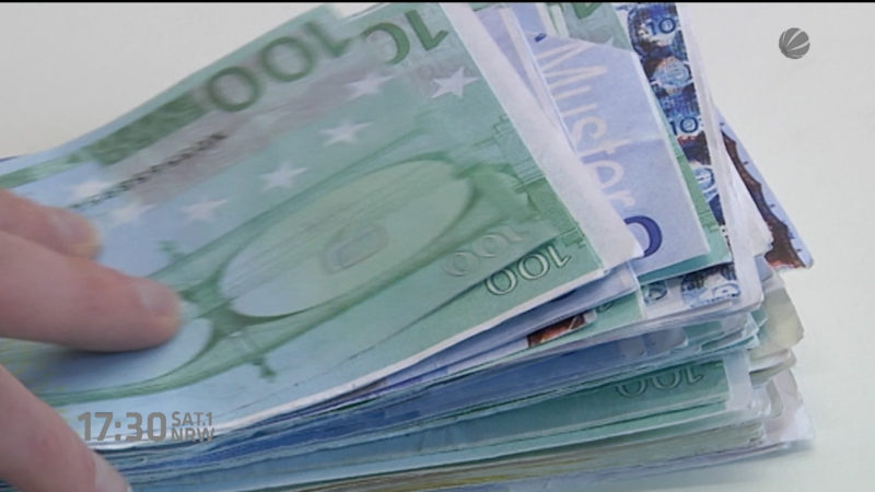 Spenden statt Steuern (Foto: SAT.1 NRW)