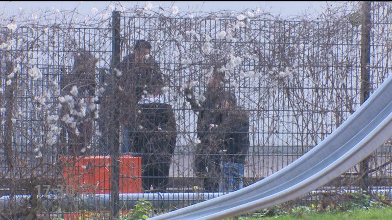 Vorwürfe gegen Security im Flüchtlingsheim (Foto: SAT.1 NRW)