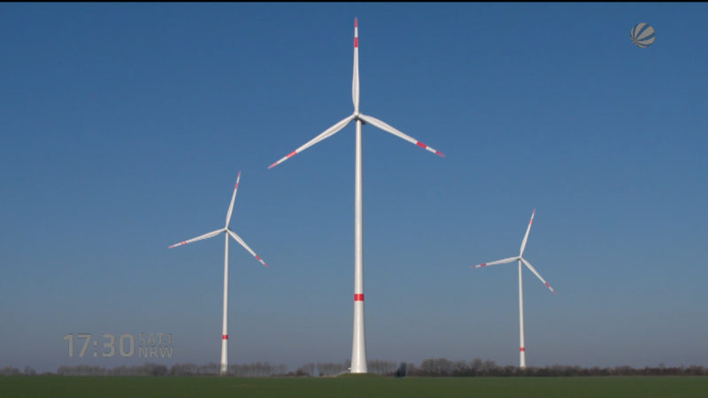 Windkraft in NRW (Foto: SAT.1 NRW)
