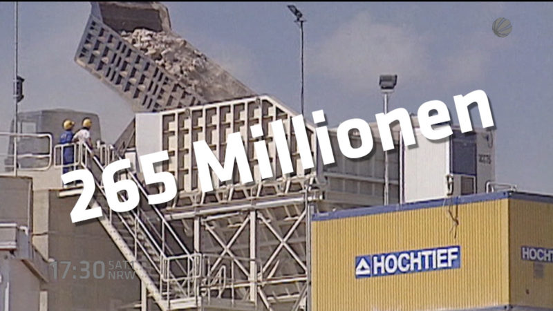 NRW-Wirtschaft brummt (Foto: SAT.1 NRW)