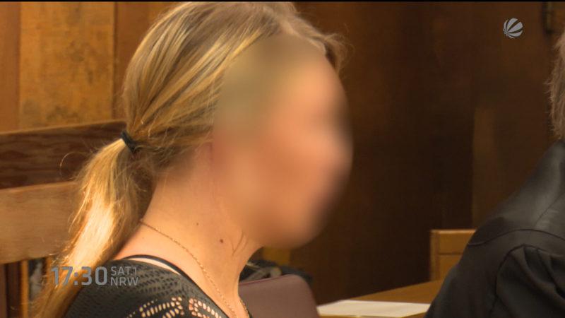 Halterin von Pascha vor Gericht (Foto: SAT.1 NRW)