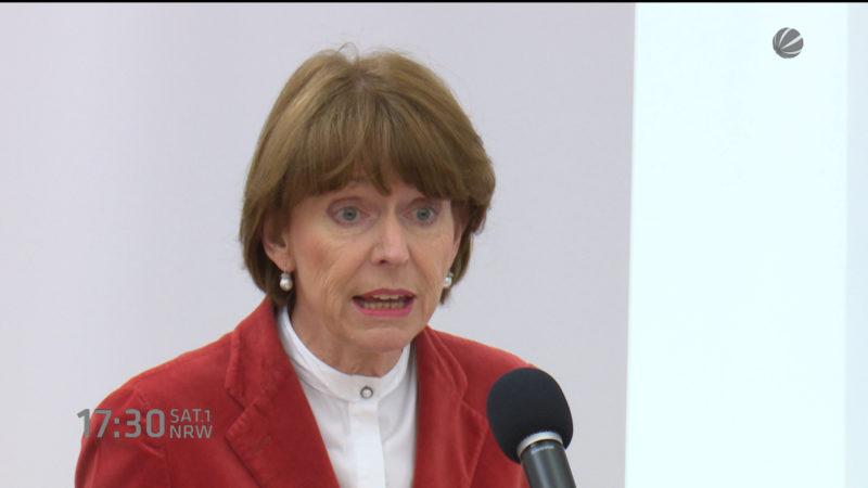 Henriette Reker 100 Tage im Amt (Foto: SAT.1 NRW)