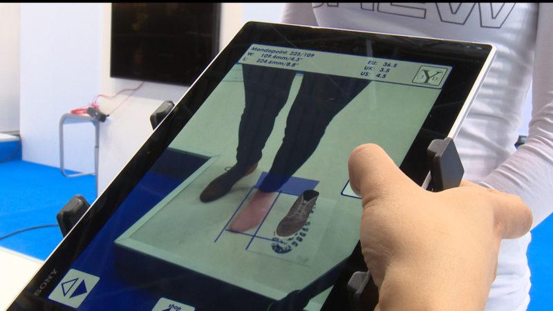 Schuhmesse digital (Foto: SAT.1 NRW)
