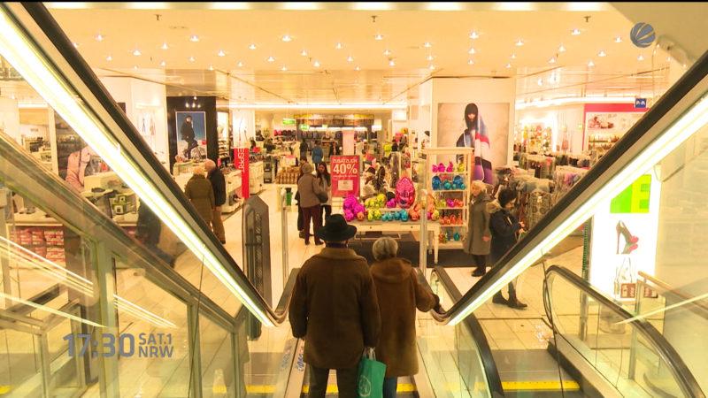 Sollten Geschäfte häufiger sonntags öffnen? (Foto: SAT.1 NRW)