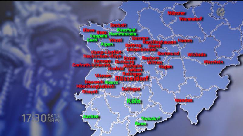 So spottet Köln über Düsseldorf (Foto: SAT.1 NRW)