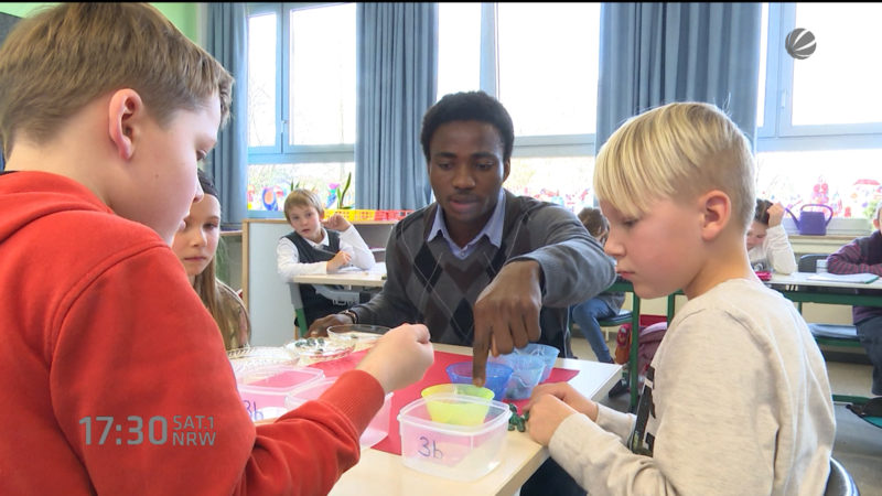 Flüchtlingskinder und ihre Schulprobleme (Foto: SAT.1 NRW)