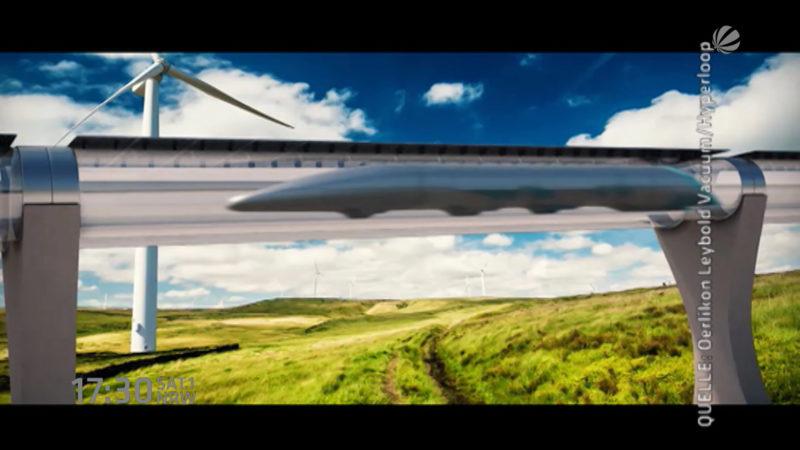 High-Speed-Reisen (Foto: SAT.1 NRW)