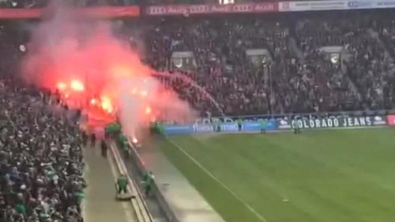 Brisantes Derby: Gladbach gegen Köln (Foto: SAT.1 NRW)