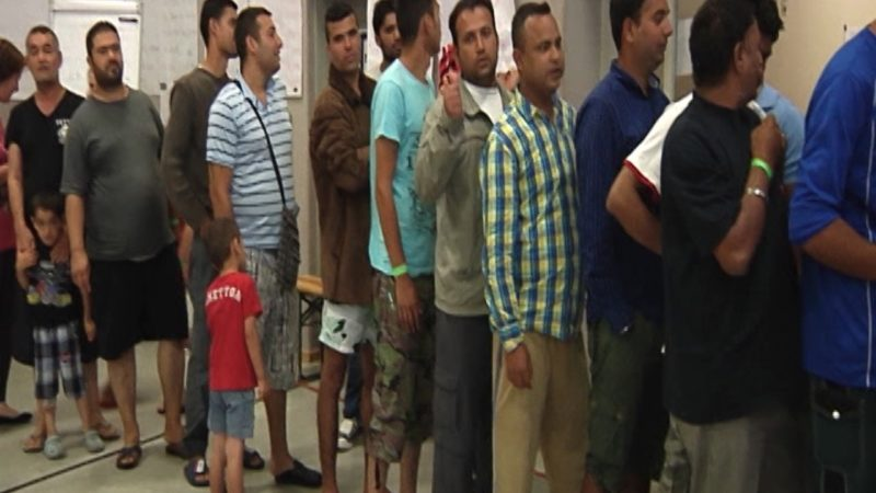 Ausweise von Flüchtlingen fehlen (Foto: Sat.1 NRW)