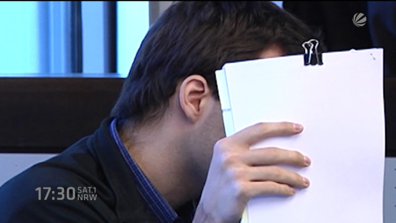 Messerangreifer verurteilt (Foto: SAT.1 NRW)
