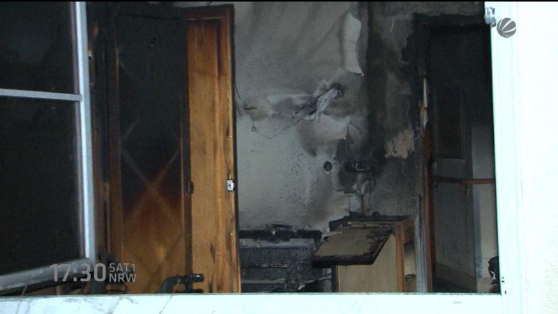 Feuer im Seniorenstift in Essen (Foto: SAT.1 NRW)