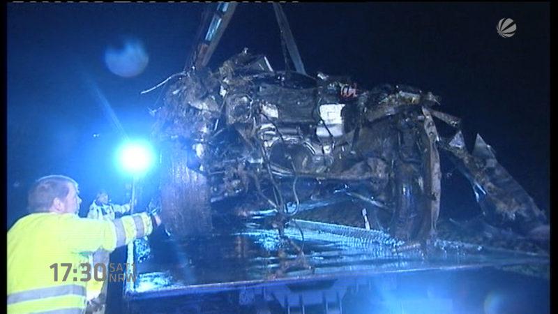 Audibande stirbt bei Unfall (Foto: SAT.1 NRW)