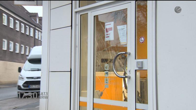 Wieder ein Geldautomat in Bochum gesprengt (Foto: SAT.1 NRW)