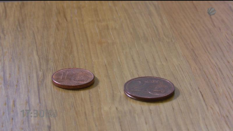 Kleve verzichtet auf Cent Münzen (Foto: SAT.1 NRW)