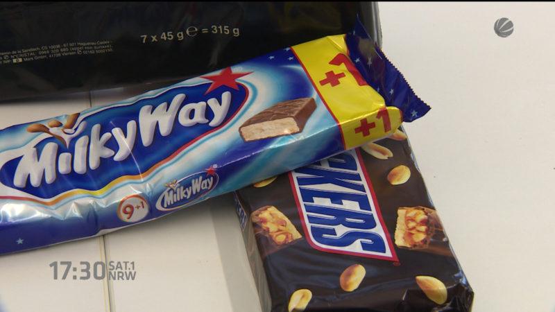 Rückruf von Mars und Snickers (Foto: SAT.1 NRW)