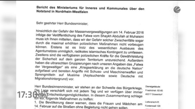 Falscher Brief (Foto: SAT.1 NRW)
