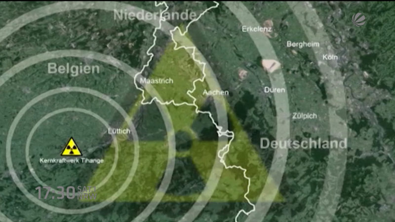 Klage gegen belgische Atomkraftwerke (Foto: SAT.1 NRW)