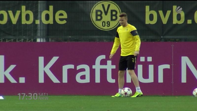 Dortmund gegen Berlin (Foto: SAT.1 NRW)