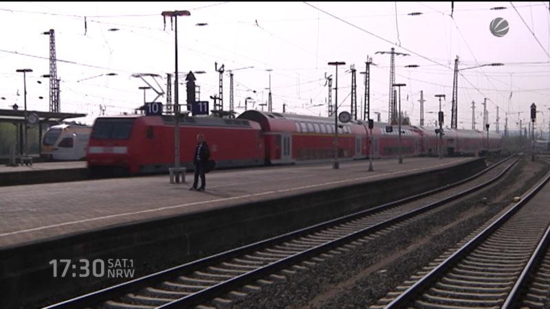 Bahn plant viele Baustellen (Foto: SAT.1 NRW)