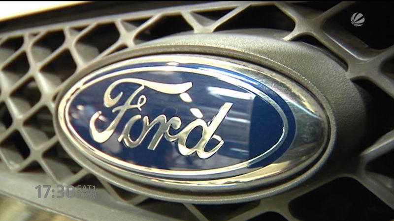 Ford will Jobs streichen (Foto: SAT.1 NRW)