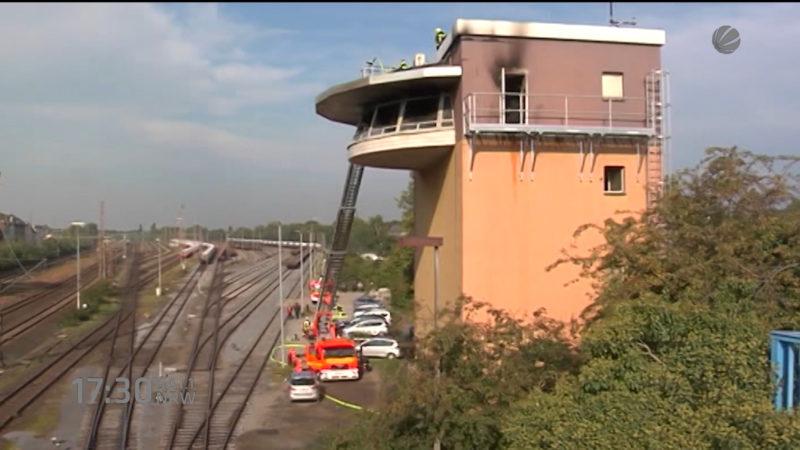 Bahn-Stellwerk wird früher fertig (Foto: SAT.1 NRW)