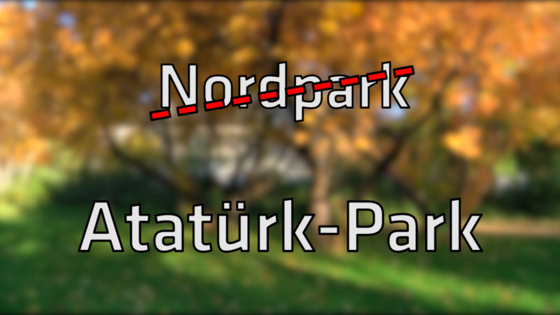 Atatürk-Park statt Nordpark? (Foto: SAT.1 NRW)