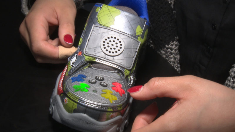 Schuhmesse: Technik an die Füße! (Foto: Sat.1 NRW)