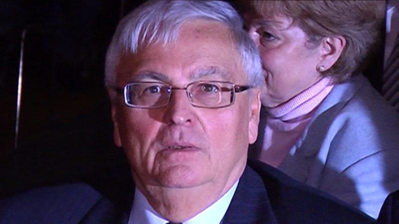 Theo Zwanziger heute vor Gericht (Foto: Sat.1 NRW)