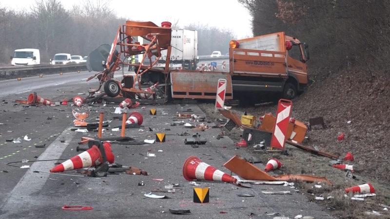 Tödlicher Unfall auf A59 (Foto: Telenewsnetwork)