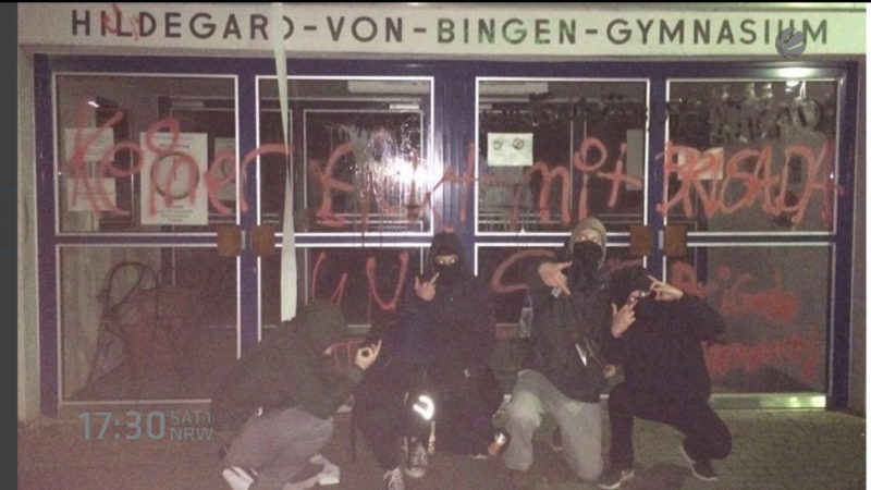 Abiturienten drehen durch (Foto: SAT.1 NRW)