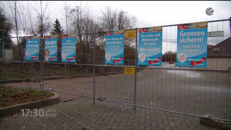 Ausschluss weil AfD-Anhänger? (Foto: SAT.1 NRW)