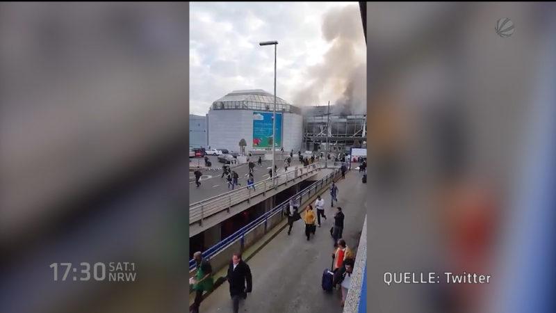 Terror in Brüssel (Foto: SAT.1 NRW)