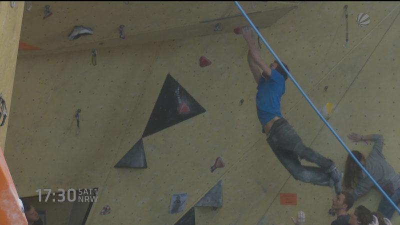 Klettern für Experten (Foto: SAT.1 NRW)