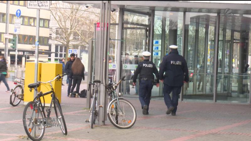 Zu wenig Bundespolizei (Foto: SAT.1 NRW)