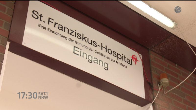 Mann erschießt seine Frau in Klinik (Foto: SAT.1 NRW)