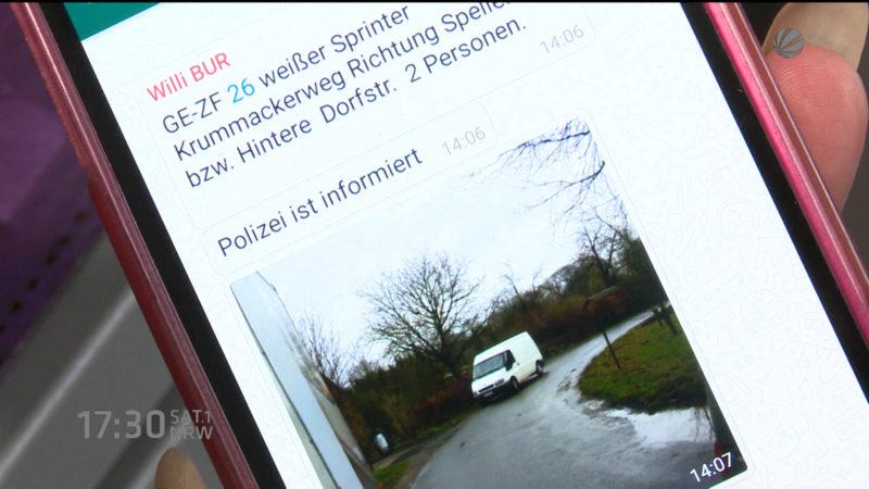 18 Prozent mehr Wohnungseinbrüche in NRW (Foto: SAT.1 NRW)