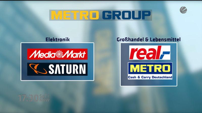 Metro spaltet Konzern auf (Foto: SAT.1 NRW)