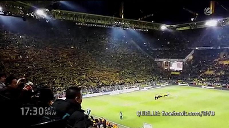 Support für toten Fan (Foto: SAT.1 NRW)